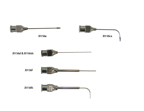 Blunt End Needle, Straight, Reinforced  23g