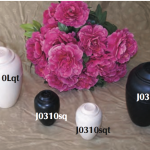 "JorVet ""Urnee"" Cremation Urn, Small, Black"
