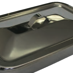 "Instrument Tray, w/ Strap Handle on Lid, 10 1/4"" x 6 3/4"""