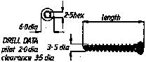 3.5mm Cancellous Screw  34mm