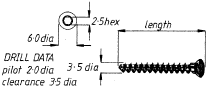 3.5mm Cancellous Screw  55mm