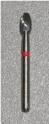 Carbide Egg-shaped Burr, Friction Grip