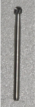 Carbide Round Burr Sx L .023, Friction Grip
