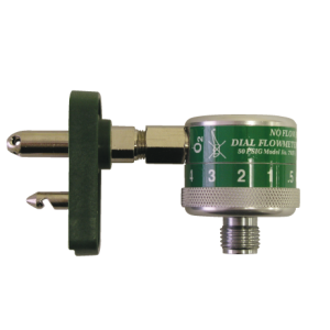 Chemtron Male Connect, w/ Dial Flowmeter 1- 15 LPM