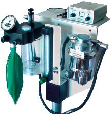 Small Animal Jorvet Anesthesia System, Table Top Unit