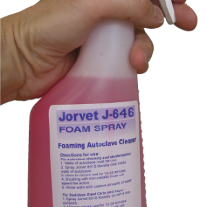 JorClave Solution, Foaming Autoclave Cleaner