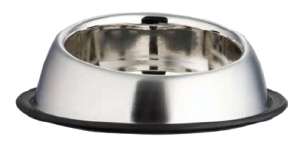 Feeding Dishes, Accented No Tip Anti-Skid, Small