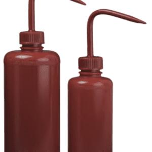 Red Wash Bottle  8oz