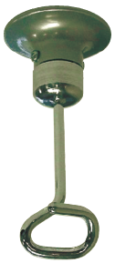 IV Holder w/ Track System, Stationary Body and Plate w/ Ring