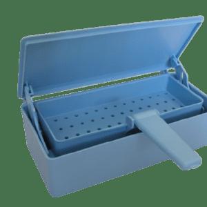 Cold Sterilization Soaking Tray, Gray