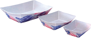 Disposable Food Tray Bowls, Large