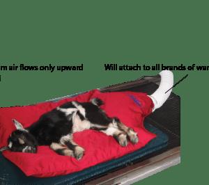 Warming Airbag Blanket, Set of 3
