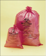 Biohazard Disposal Bags, 2-4 Gallon