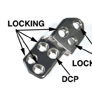 3.5 TPO/DPO Locking Plate, 20 Left