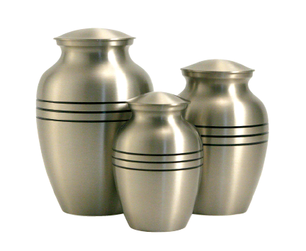 Classic Pewter Urn - Large
