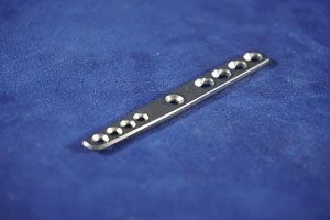 Carpal Arthrodesis Plate, Compression, 2.0/2.7mm, 75mm