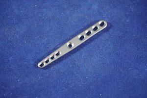 Carpal Arthrodesis Plate, Carpal Arthrodesis, 1.5/2.0mm DCP, 54mm