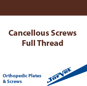 Cancellous Screws, Full Thread