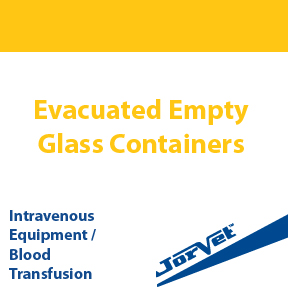 Evacuated Empty Glass Containers