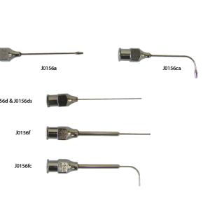Blunt End Needle, Angeled, Reinforced  23g