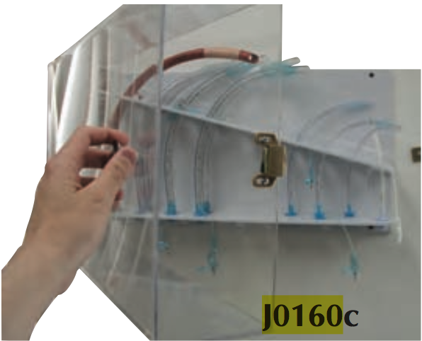 Endotracheal Tube Rack Clear Jorgensen Labsjorgensen Labs