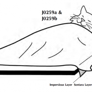 "Impervious Drape Material  60"" x 80"""