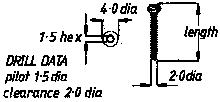 2mm Cortical Screw  6mm