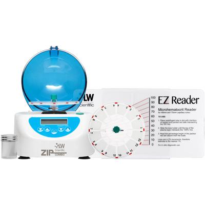 ZipCombo Centrifuge, 12-Place Microhematocrit Rotor