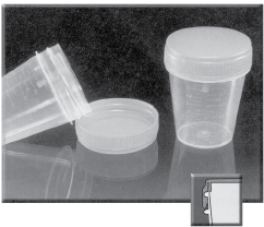 Specimen Container, Non-Sterile, Disposable