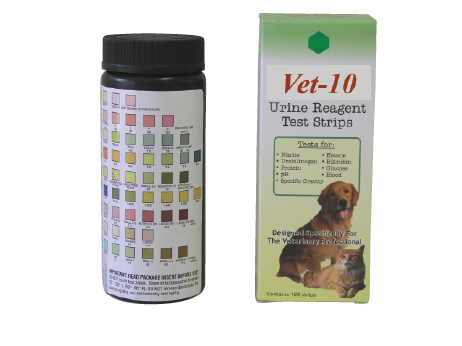cat urine ph test strips