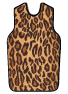 X-Ray Apron, Faux Leopard, Velcro, Small