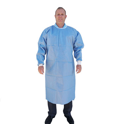 Disposable Gown, SMS Fabric, X-Large - Jorgensen LabsJorgensen Labs