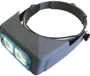 """Optivisor, Replacement Lens Plate, 2x at 10"""""""