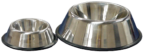 Non-Tip Bowl, Stainless, 1/2 Pint