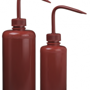 Red Wash Bottle  8oz