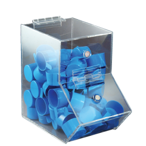 Clear Dispensing Bin, Small