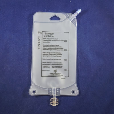 Collapsible Empty Iv Bag 500ml