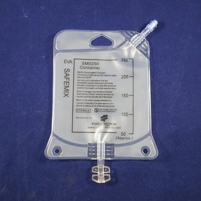 Collapsible Empty IV Bag 250ml