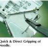 Catgut Chromic w/ Needle, 3/8 Circle, Reverse Cutting, 24mm L, 2/0