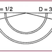 Braunamid w/ Needle, 3/8 Circle, Reverse Cutting, 24mm L, 3/0