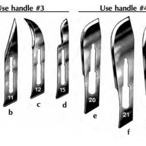 Sterile, Swann-Morton Disposable Scalpel, #20