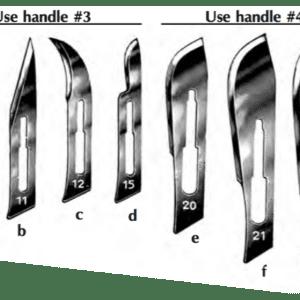 Sterile, Swann-Morton Disposable Scalpel, #21