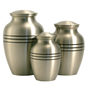 Classic Pewter Urn - Medium