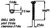 2.7mm Cortical Screw  12mm