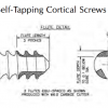3.5mm Cortical Self-Tapping Screw, Stainless  18mm