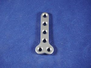 T Plate, 3.5mm, 6-hole, 55mm