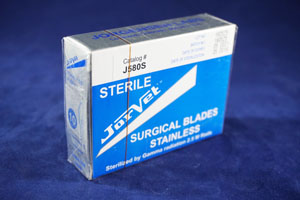 JorVet Stainless Steel Surgical Scalpel Blades  #10