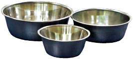 Premium/Heavy-Duty Bowl, Stainless, 4 Quart