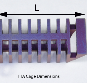 TTA Cage, Stainless, 12 x 25mm