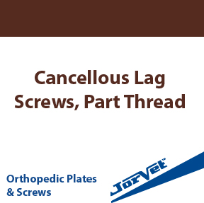 Cancellous Lag Screws, Part Thread